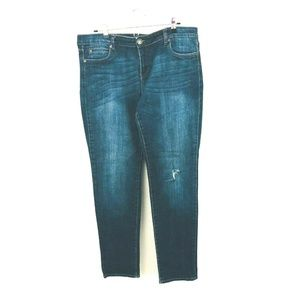 Kut From the Kloth Distressed Skinny Jeans 14
